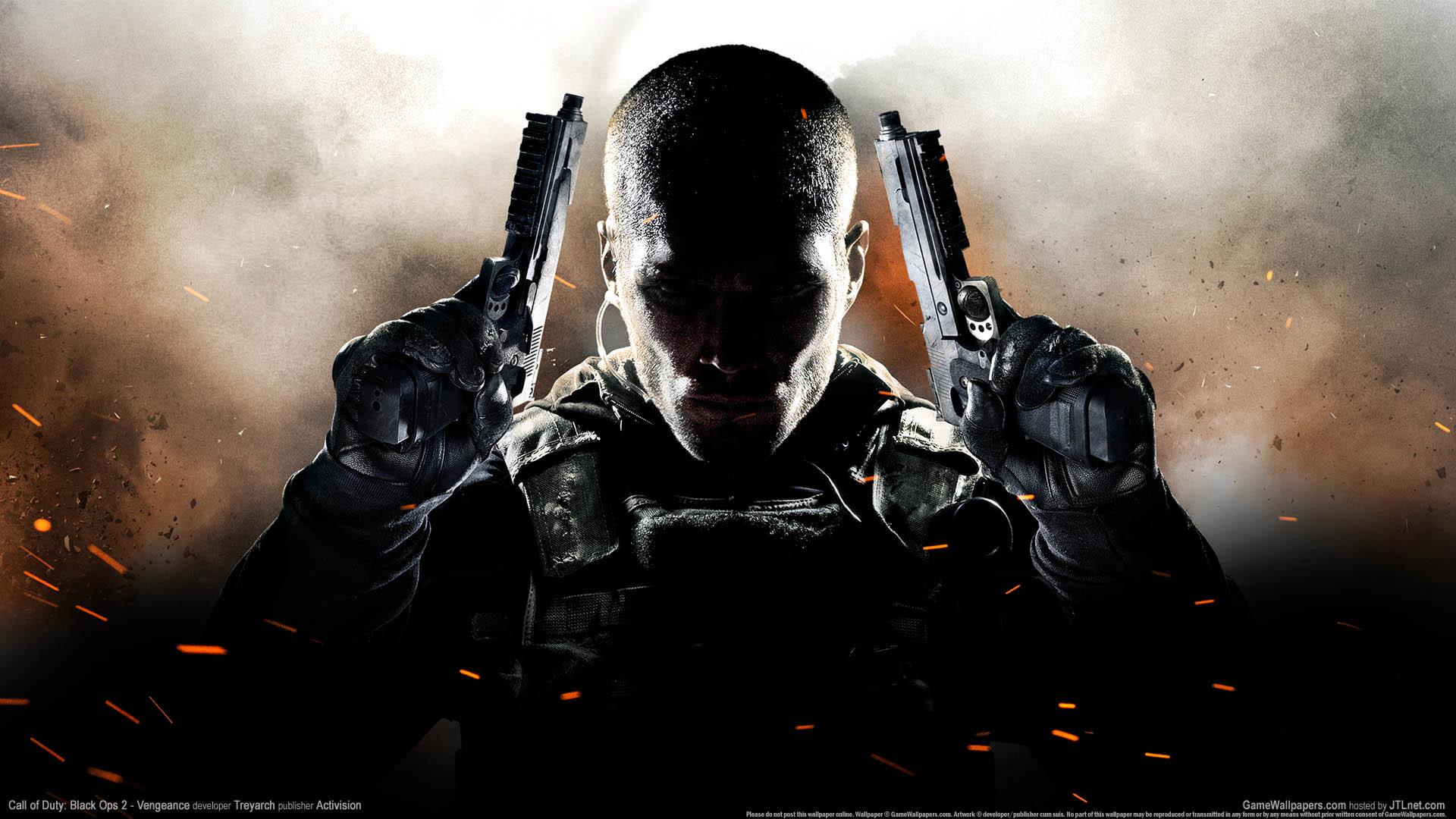 Call Of Duty Black Ops 2 Vengeance Fondo De Escritorio 01