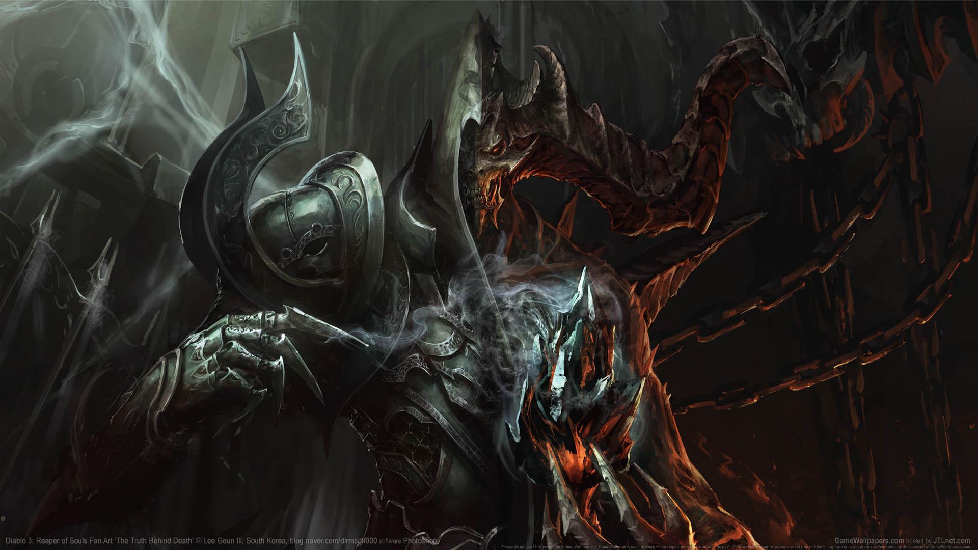 Diablo 3 Reaper Of Souls Fan Art Fondo De Escritorio 02