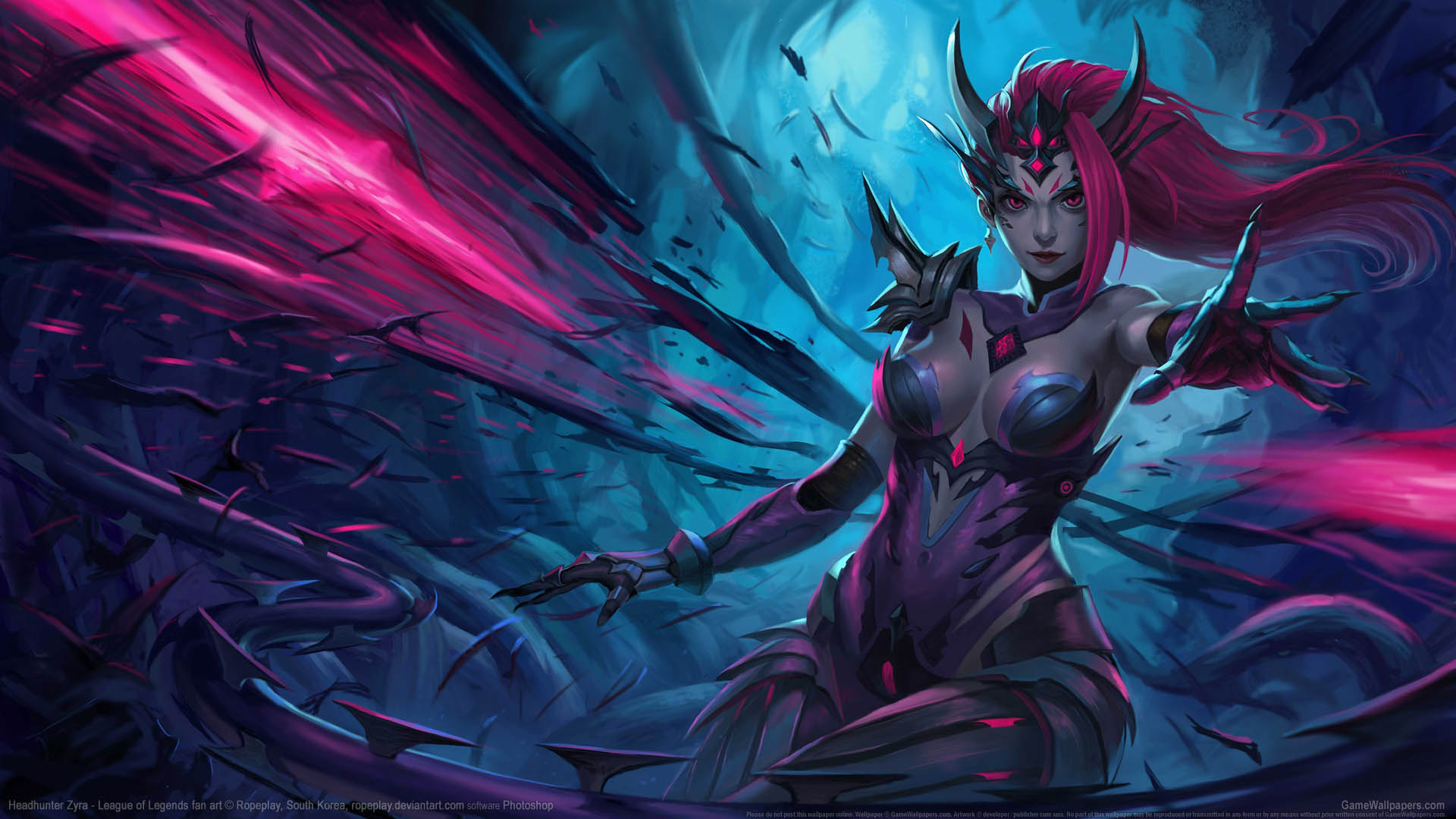 League Of Legends Fan Art Fondo De Escritorio 01 1920x1080