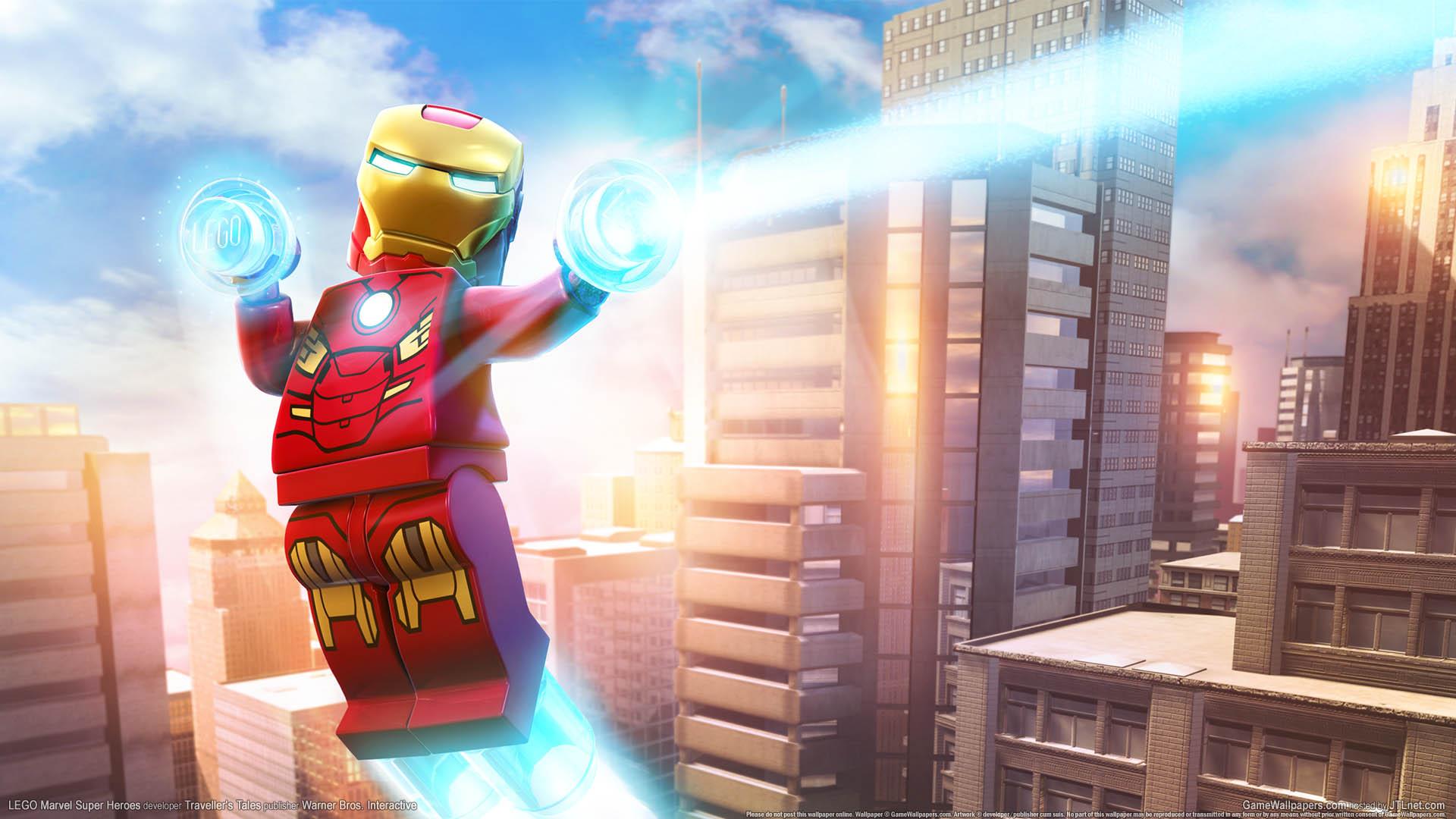 Lego Marvel Super Heroes Fondo De Escritorio 02 1920x1080