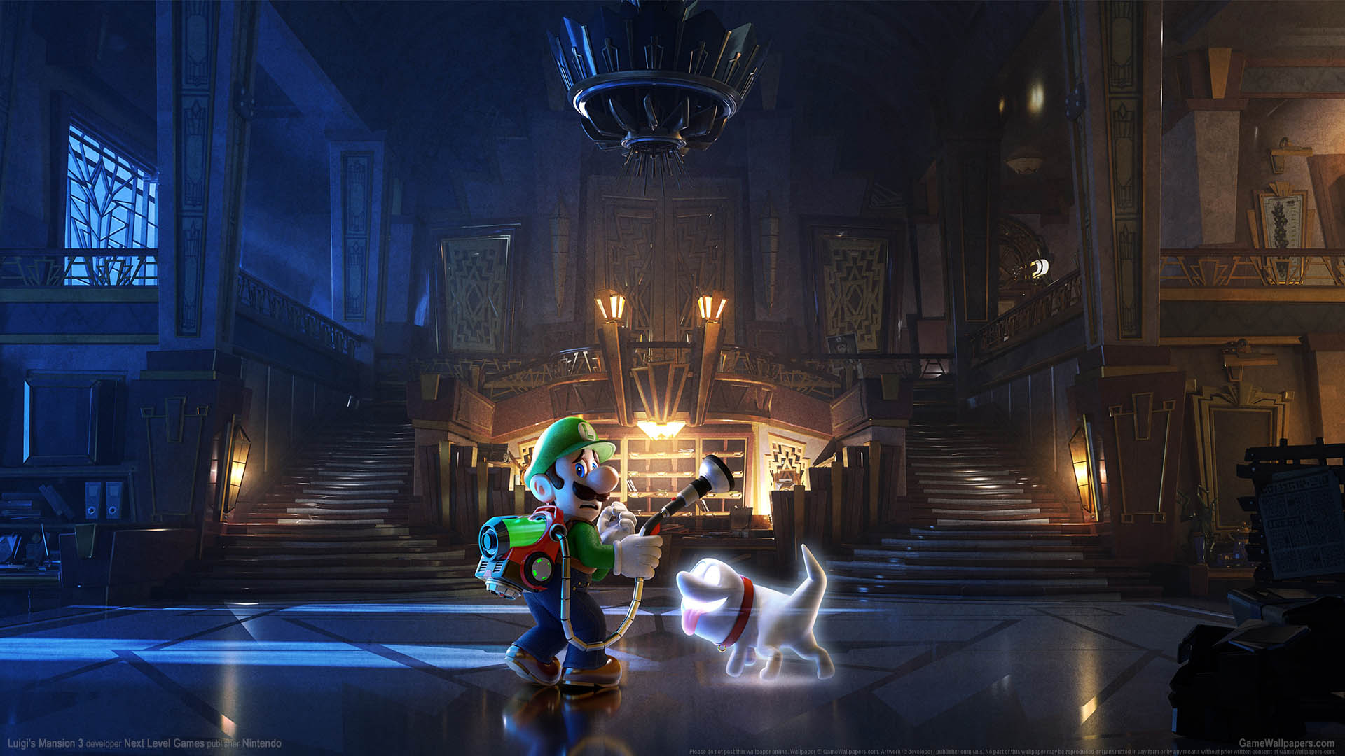 Luigis Mansion 3 Fondo De Escritorio 02 1920x1080