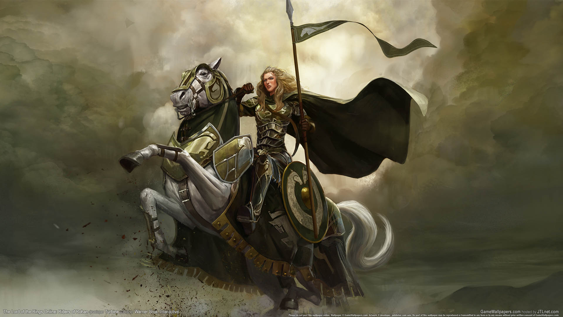 The Lord Of The Rings Online Riders Of Rohan Fondo De