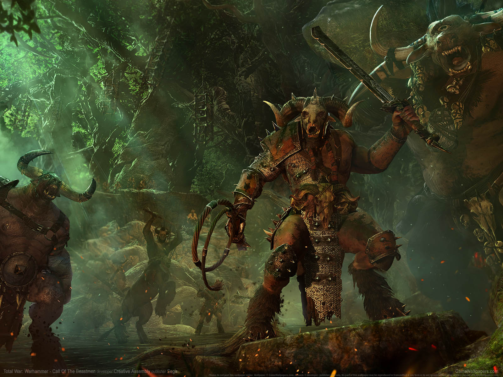 Total War3a Warhammer Call Of The Beastmen Fondo De
