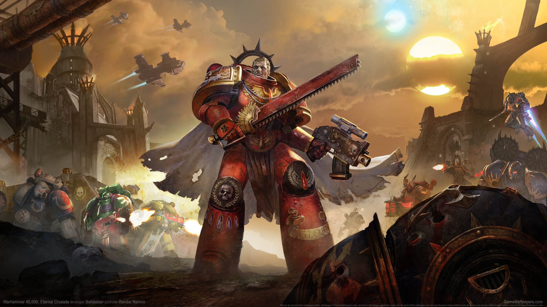 Warhammer 40000 Eternal Crusade Fondo De Escritorio 01