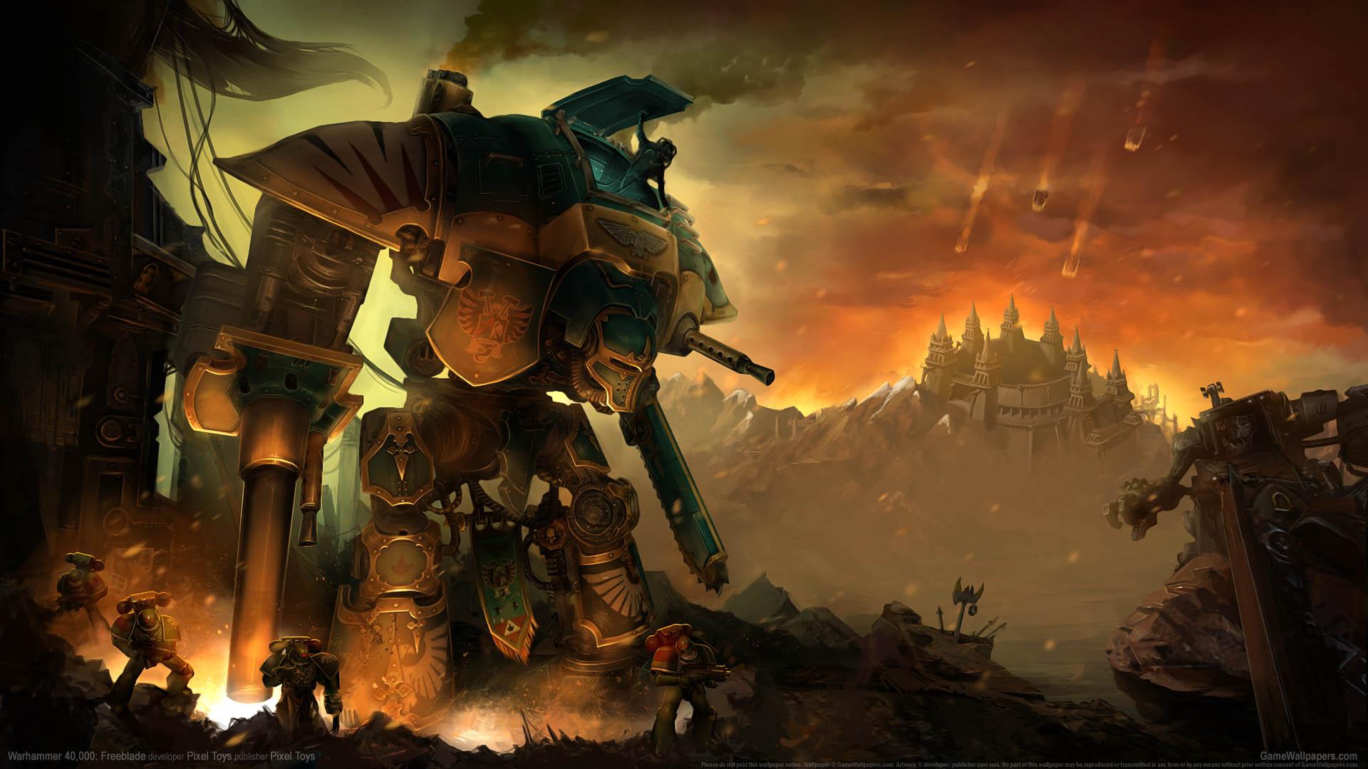 Warhammer 40000 Freeblade Fondo De Escritorio 01 1920x1080