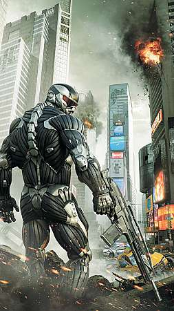 Crysis 2 Móvil Vertical fondo de escritorio