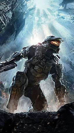 Halo 4 Móvil Vertical fondo de escritorio