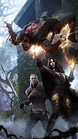 The Witcher 3: Wild Hunt Móvil Vertical fondo de escritorio
