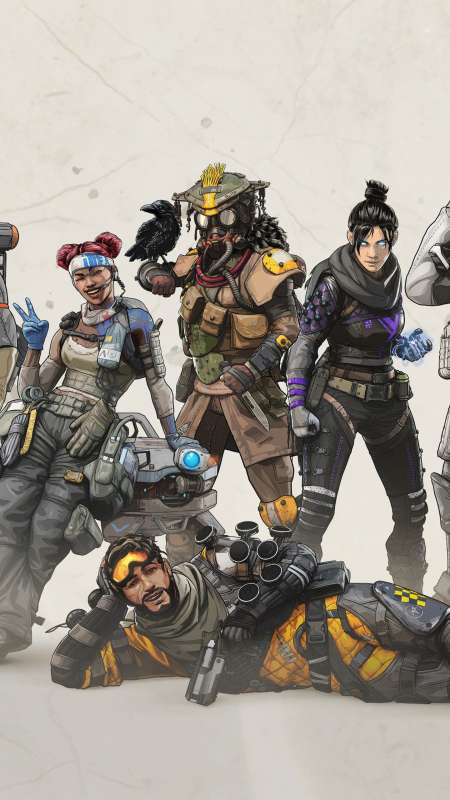 Apex Legends Móvil Vertical fondo de escritorio