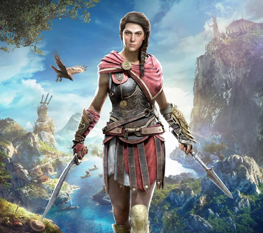 Assassin's Creed: Odyssey Móvil Horizontal fondo de escritorio