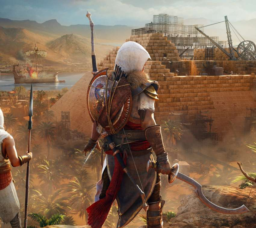Assassin's Creed: Origins Móvil Horizontal fondo de escritorio
