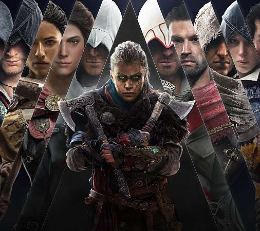 Assassin's Creed: Valhalla Móvil Horizontal fondo de escritorio