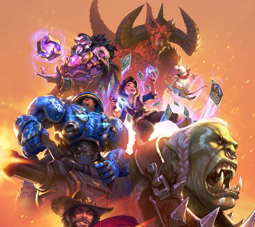 Blizzard Entertainment Móvil Horizontal fondo de escritorio