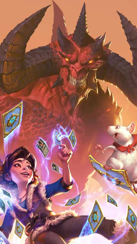 Blizzard Entertainment Móvil Vertical fondo de escritorio