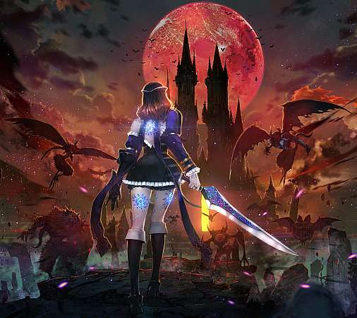 Bloodstained: Ritual of the Night Móvil Horizontal fondo de escritorio