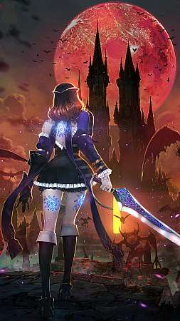 Bloodstained: Ritual of the Night Móvil Vertical fondo de escritorio