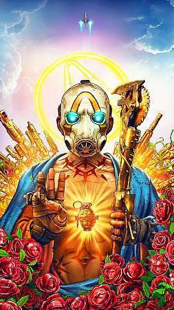 Borderlands 3 Móvil Vertical fondo de escritorio