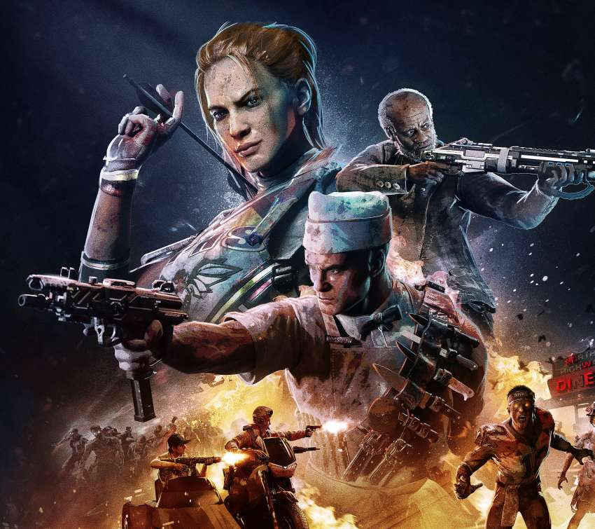 Call of Duty: Black Ops 4 - Operation Apocalypse Z Móvil Horizontal fondo de escritorio