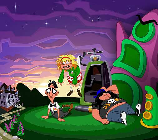 Day of the Tentacle Remastered Móvil Horizontal fondo de escritorio