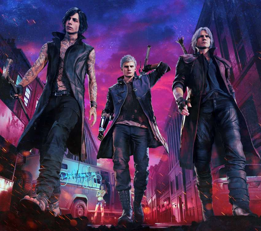Devil May Cry 5 fondo de escritorio