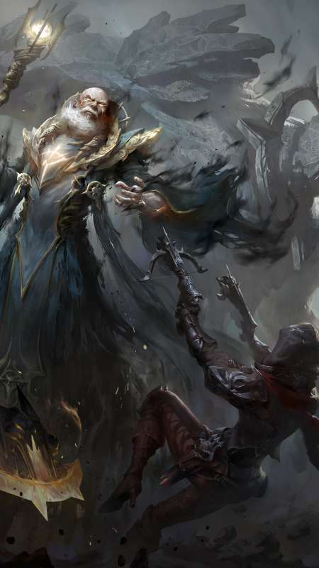 Diablo Immortal Móvil Vertical fondo de escritorio