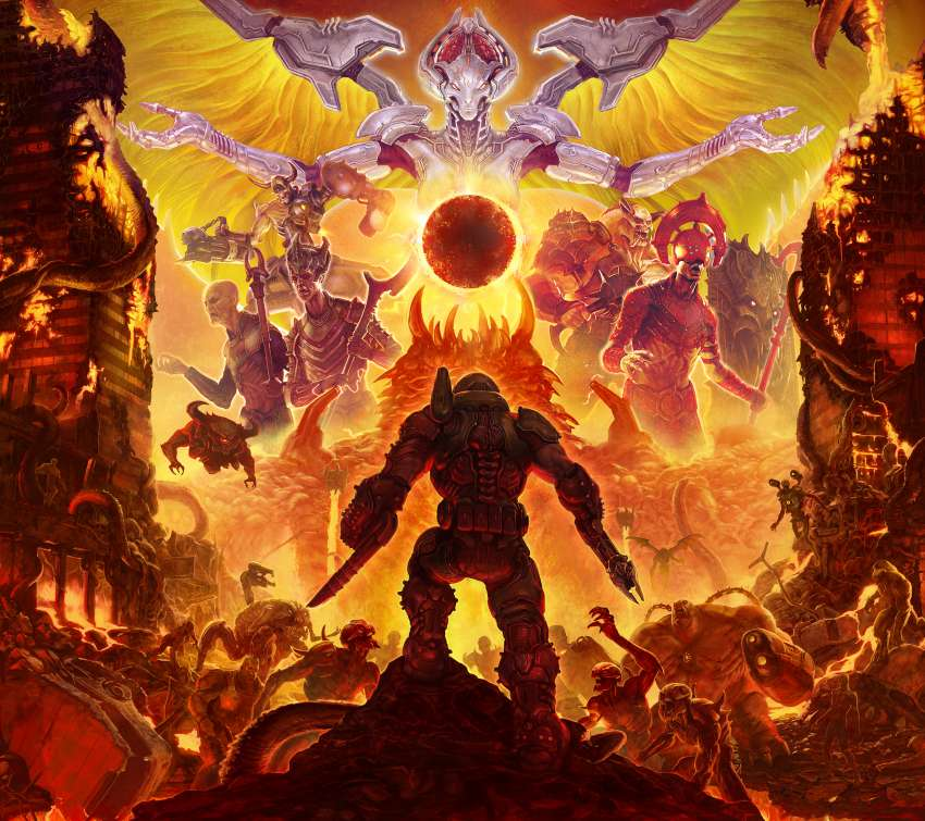 Doom Eternal fondo de escritorio