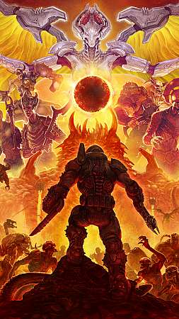 Doom Eternal Móvil Vertical fondo de escritorio