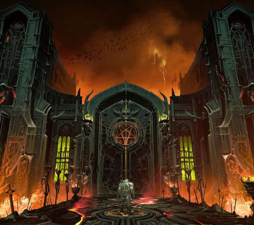 Doom Eternal Móvil Horizontal fondo de escritorio