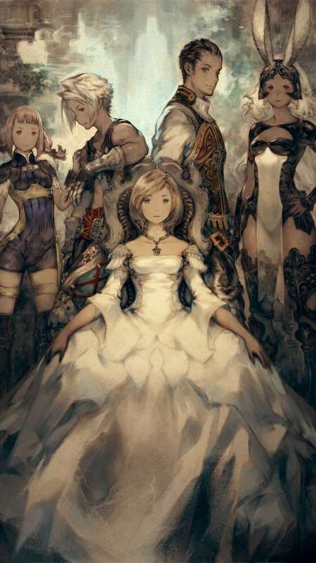 Final Fantasy XII The Zodiac Age Móvil Vertical fondo de escritorio