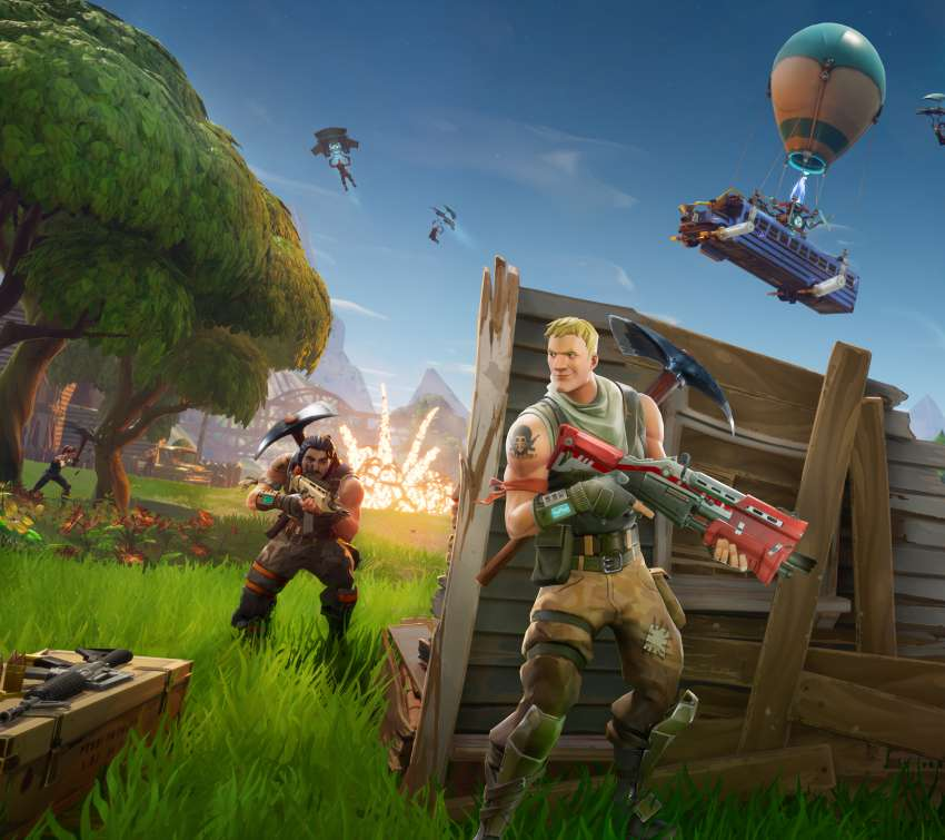 Fortnite Móvil Horizontal fondo de escritorio