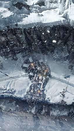 Frostpunk: On the Edge Móvil Vertical fondo de escritorio