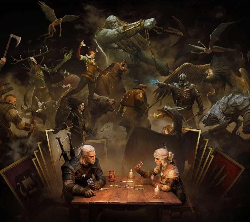 GWENT: The Witcher Card Game Móvil Horizontal fondo de escritorio