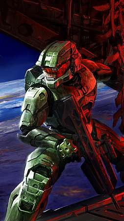 Halo 2 Móvil Vertical fondo de escritorio