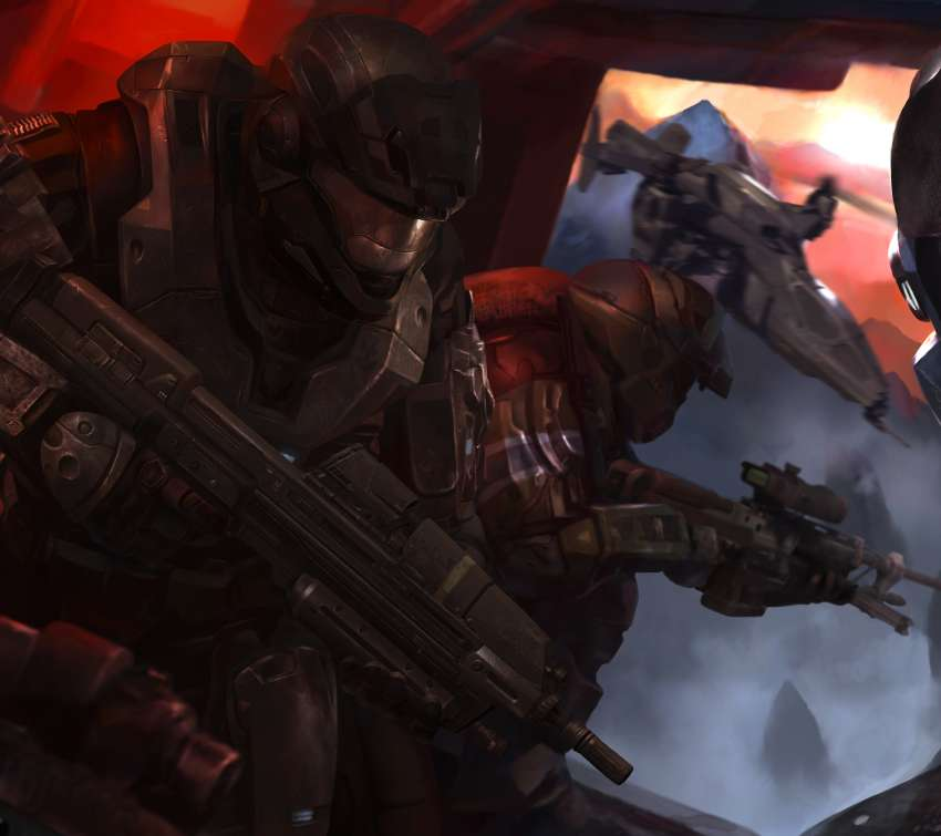 Halo: Reach fondo de escritorio