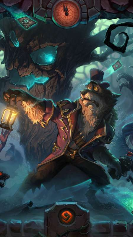 Hearthstone: Heroes of Warcraft - The Witchwood Móvil Vertical fondo de escritorio