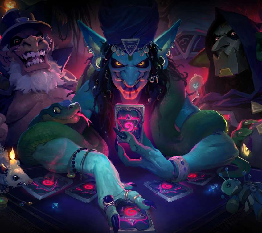 Hearthstone: Rise of Shadows Móvil Horizontal fondo de escritorio