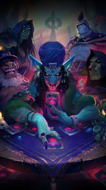 Hearthstone: Rise of Shadows Móvil Vertical fondo de escritorio