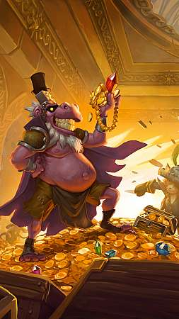 Hearthstone: The Dalaran Heist Móvil Vertical fondo de escritorio