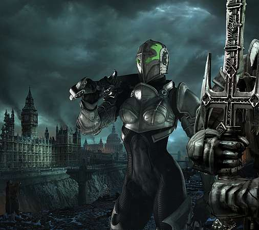 Hellgate: London Móvil Horizontal fondo de escritorio