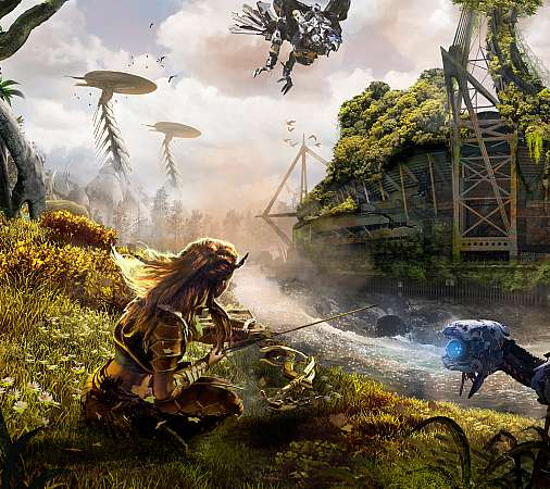 Horizon: Zero Dawn Móvil Horizontal fondo de escritorio