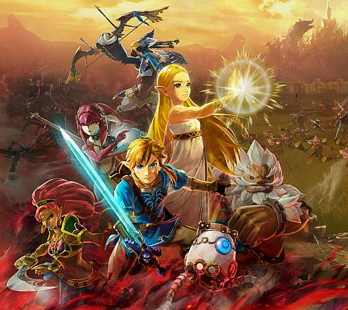 Hyrule Warriors: Age of Calamity Móvil Horizontal fondo de escritorio