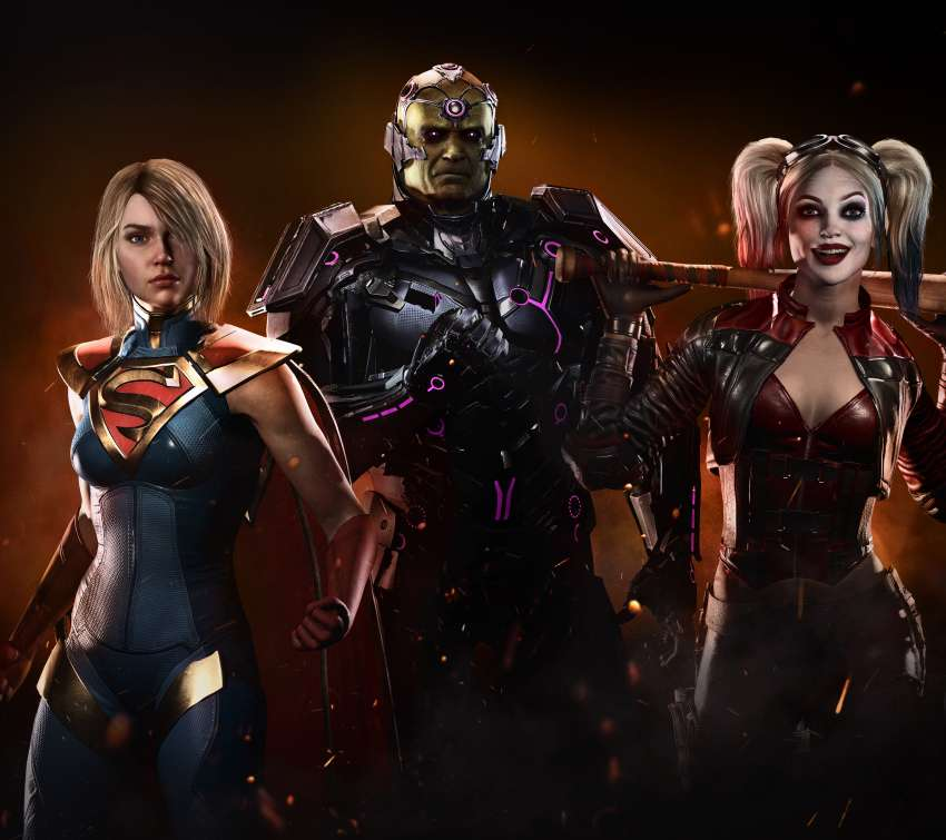 Injustice 2 fondo de escritorio