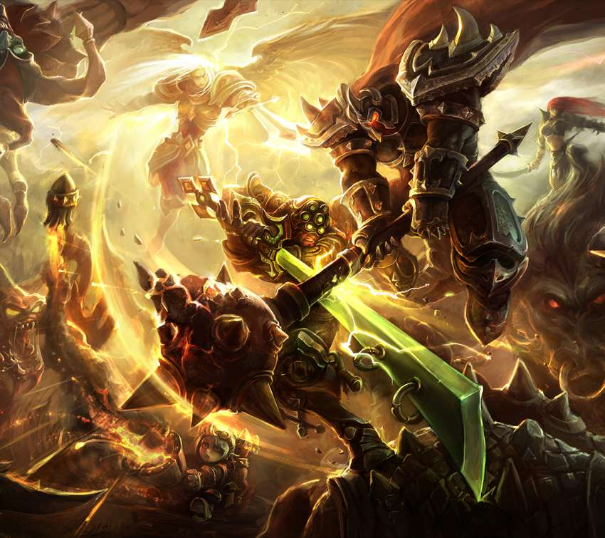 League of Legends fondo de escritorio