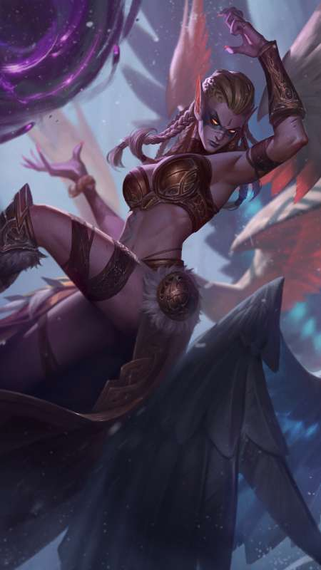 League of Legends Móvil Vertical fondo de escritorio