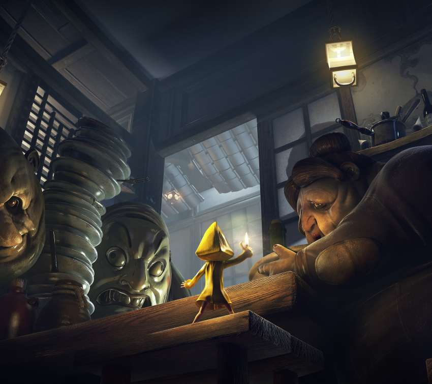 Little Nightmares Complete Edition Móvil Horizontal fondo de escritorio