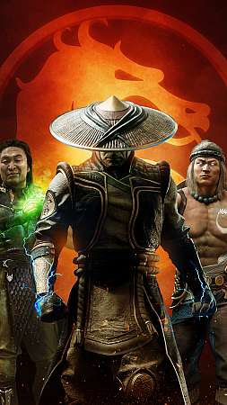 Mortal Kombat 11 Aftermath Móvil Vertical fondo de escritorio