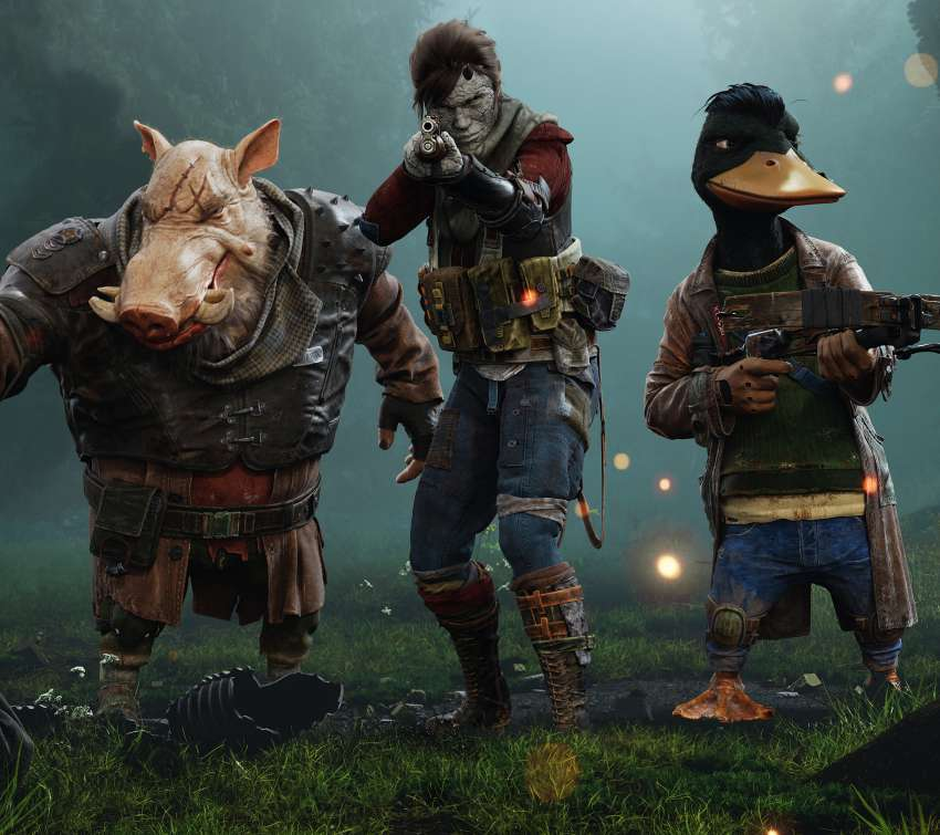 Mutant Year Zero: Road To Eden Móvil Horizontal fondo de escritorio