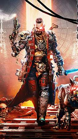 Necromunda: Hired Gun Móvil Vertical fondo de escritorio