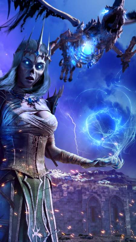 Neverwinter Móvil Vertical fondo de escritorio