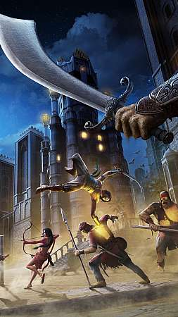 Prince of Persia: The Sands of Time Remake Móvil Vertical fondo de escritorio